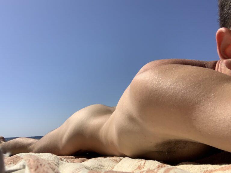 Nudist Beach in Monaco