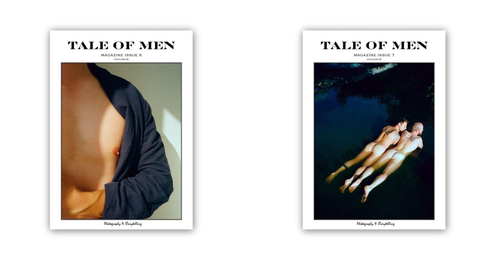 Kickstarter for Tale of Men Magazine Issue 7 & 8